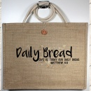 """Give Us Today Our Daily Bread"" Matt. 6:11 Tote Bag"