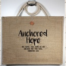 """We Have This Hope As An Anchor For The Soul"" Heb. 6:19 Tote Bag"