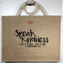 """Love Is Patient, Love Is Kind"" 1 Cor. 13:4 Tote Bag"