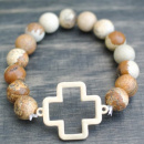 Choose Love Stone Bracelet: Poppy