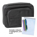 Canvas Bible Cover Study Kit - Black XL
