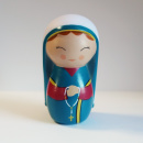 Saint Bernadette Soubirous Shining Light Doll