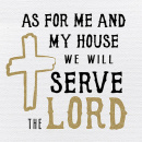 Tabletalk Plaque: As For Me & My House We Will Serve The Lord