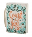 Faithworks Bible Cover: Count It All Joy (Large)