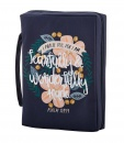Faithworks Bible Cover: Fearfully & Wonderfully Made (Large)
