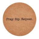 Pray Sip Repeat Coasters (8 Pack)