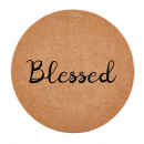 Blessed Script Coasters (8 Pack)