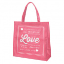 Love Tote Bag (Pink)