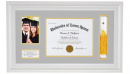 Graduation Photo Frame Keepsake (White) Jeremiah 29:11