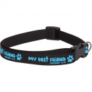 Dog Collar: My Best Friend (Blue)