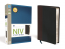 NIV Study Bible (Brown & Black)