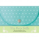 NIrV My Purse Bible--soft leather-look, turquoise