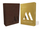 NKJV Ancient-Modern Bible (Brown Leathersoft)