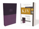 KJV Leathersoft Thinline Bible (Purple)