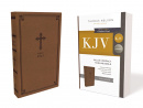 KJV Leathersoft Thinline Bible (Brown)