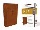 KJV Value Thinline Bible (Brown, Red Letter Edition)
