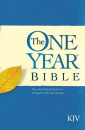 The One Year Bible: KJV