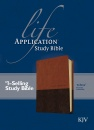KJV Life Application Study Bible (Brown/Tan)