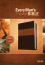 NIV Every Man's Bible Deluxe Heritage Edition (Brown)