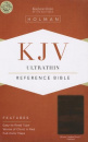 KJV Ultrathin Reference Bible (Brown LeatherTouch Indexed)