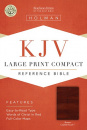 KJV Large Print Compact Reference Bible (Brown)