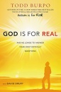 God Is for Real: And He Longs to Answer Your Most Difficult Questions (Hardcover, Large Print)