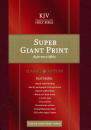KJV Super Giant Print Reference Bible (Burgundy)