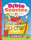 Bible Stories Kids Love Coloring Book