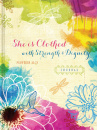 She Is Clothed with Strength & Dignity (Signature Journals)