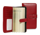 Designer Wallet: Envelope System (Red)