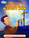 The Stations Of The Cross: Coloring & Activity Book
