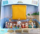 Galilee Boat With Jesus & The Apostles Playset