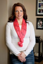 (Peach) Holy Mary Infinity Inspirational Scarf