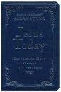 Jesus Today Deluxe Edition: Leather | Blue