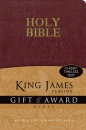 KJV Gift & Award Bible (Burgundy)