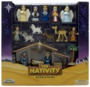 Nativity Play Set (17 Piece Set)