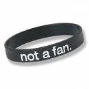 Not a Fan: Wristband