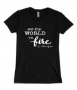 Set the World on Fire, St. Catherine of Siena, T-shirt (Medium)