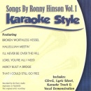 Karaoke Style: Songs By Ronny Hinson, Vol. 1