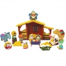 VeggieTales Nativity Playset Toy