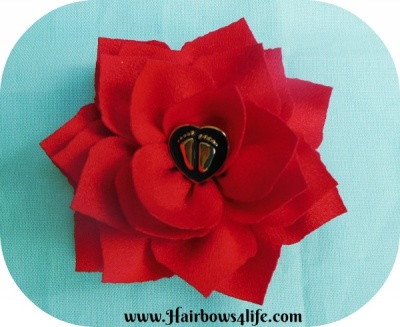 Pro-Life Flower Pin