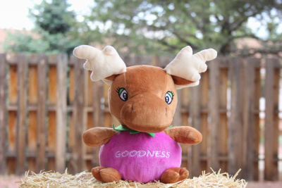 Goodness: The Grape Moose Plush