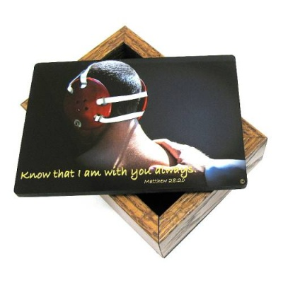 Wrestling Keepsake Box