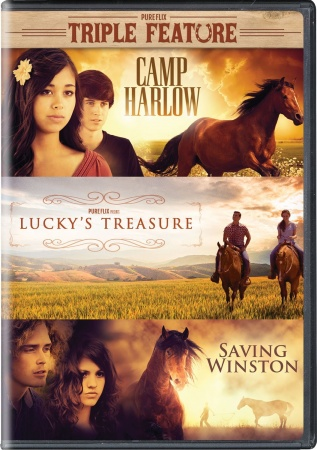 Triple Feature: Camp Harlow, Lucky's Treasure, Saving Winston