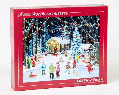 Woodland Skaters Jigsaw Puzzle (1,000 Piece)