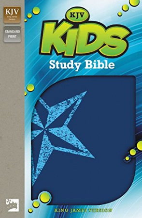 KJV Kids Study Bible (Galaxy Blue)