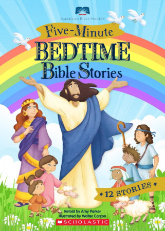 Five-Minute Bedtime Bible Stories