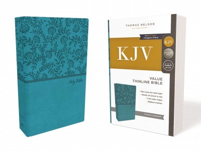 KJV Value Thinline Bible (Green, Red Letter Edition)
