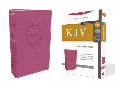 KJV Value Thinline Bible (Pink, Red Letter Edition)