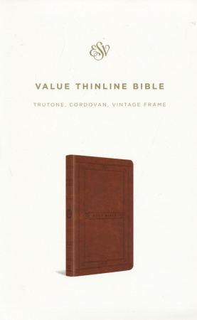 ESV Value Thinline Bible (Vintage Frame Design)